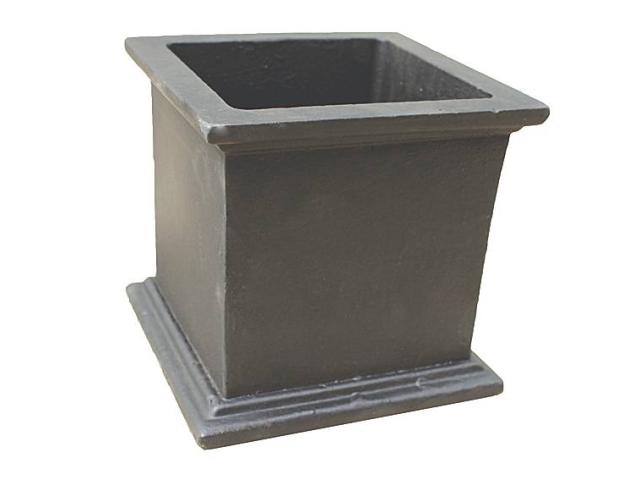 Kvetináč liatinový 160x160x160mm, cast iron