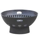 Szürkeöntvény tűzhely 455x310x285mm, black, cast i