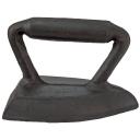 Žehlička liatinová 150x90x100mm, cast iron