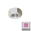 Matice - Nerez M10 AISI 316, M10mm