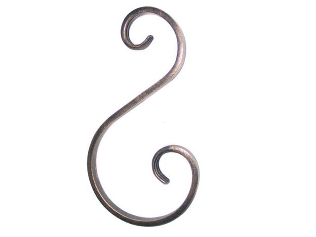 Element tvaru-S h200, b85/50, 12x6mm