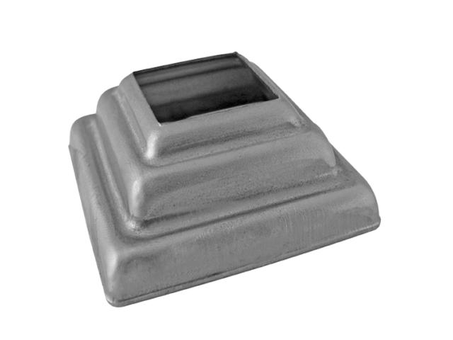 Rosette 57x57, 22x22, h22,5  t1mm