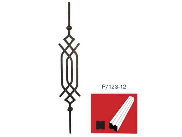 Tyč P/123-12, h900mm