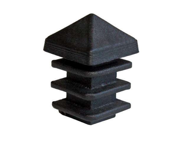Krytka na sloupek 12x12mm-PVC