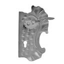 Kľúčka so štítkom pravá bez PÚ h290mm