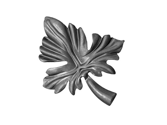 Akanty,Květ list,lístek kovaný,oplocení h115, b99,