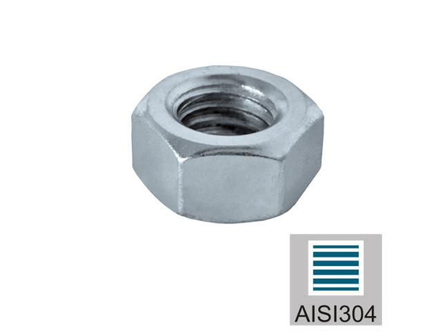 Matice - Nerez AISI304, M6mm