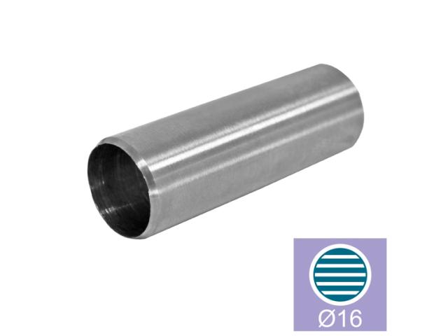 Nerezový držák prutů - spojka AISI304, L40/d16mm