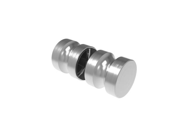 Madlo pro skleněné dveře AISI 304, K320, 32mm
