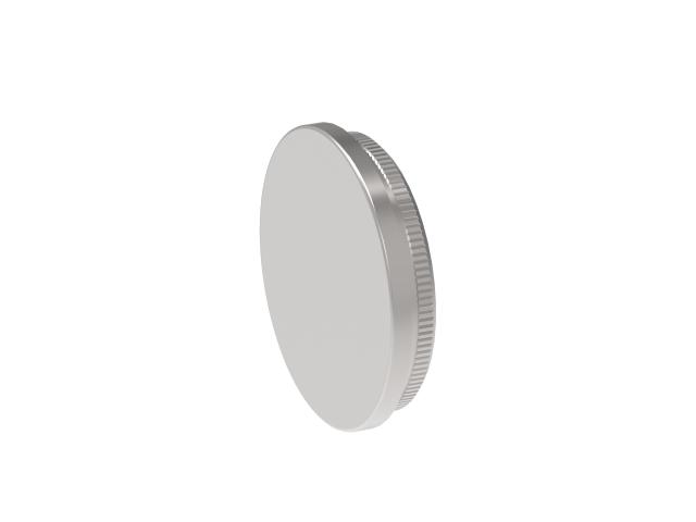 Rozsdamentes lapos csővégzáró AISI304, D33,7x2mm