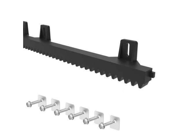 Hřeben plastový PVC+Fe,27x18mm,L1m,max 700kg