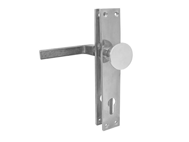 Komplet guľa-kľúčka so štítkami-AL h220, b37, t5mm
