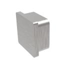 End cap square AISI316, 40x40x2mm
