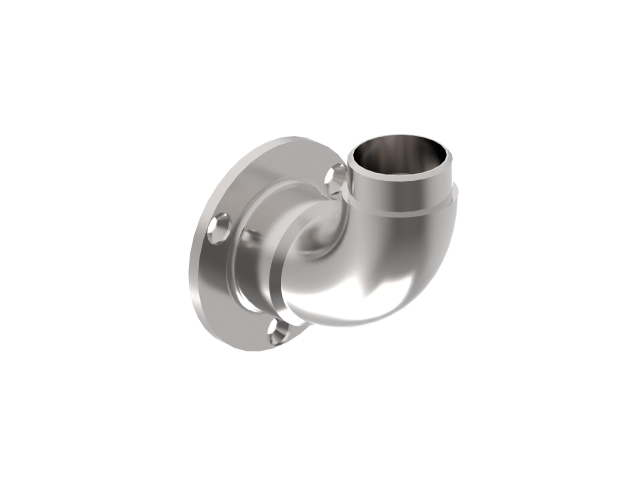 Adjustable handrail bracket anchoring