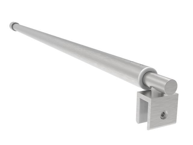 Rozsdamentes stabilizátor üvegfalhoz  L=750-1040