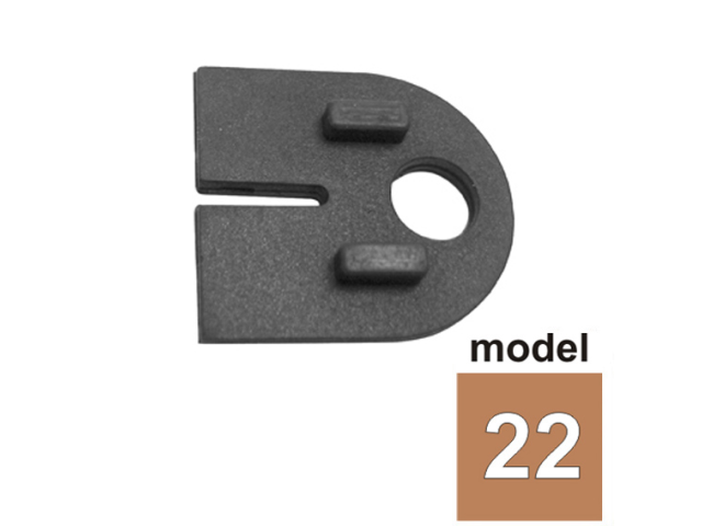 Tesnenie plech model 22 T1,5/63x45mm