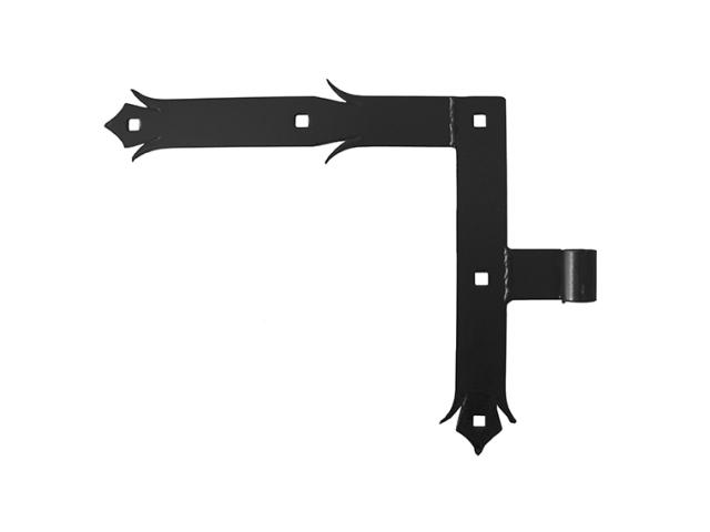 Kovaný pant,závěs,pant okrasný,brána 250x285, b35,