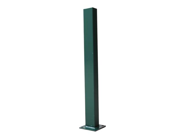 Stĺpik 60x40mm s pätkou ZnPVC 1400mm zelená
