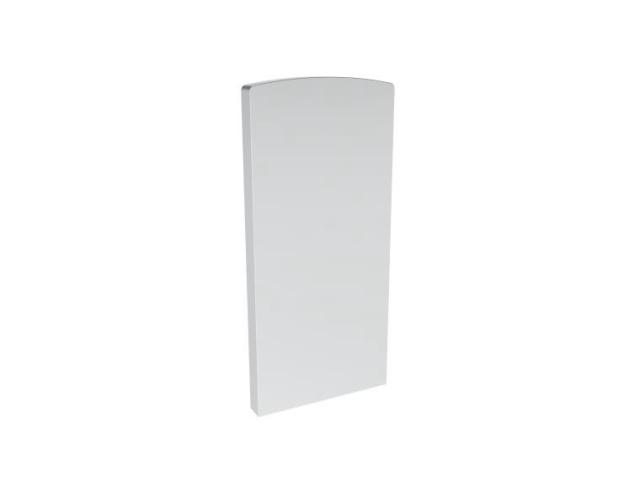 Záslepka profilu, 128x60-ELOX AL/ELOX/satin