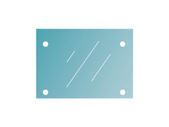Glass for canopy system 12,76-1400x1000-VSG/ESG