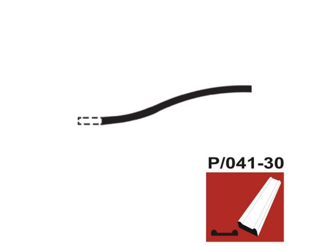 Plotový rám,kovaná vrata P/041-30x8, P250, L2200mm