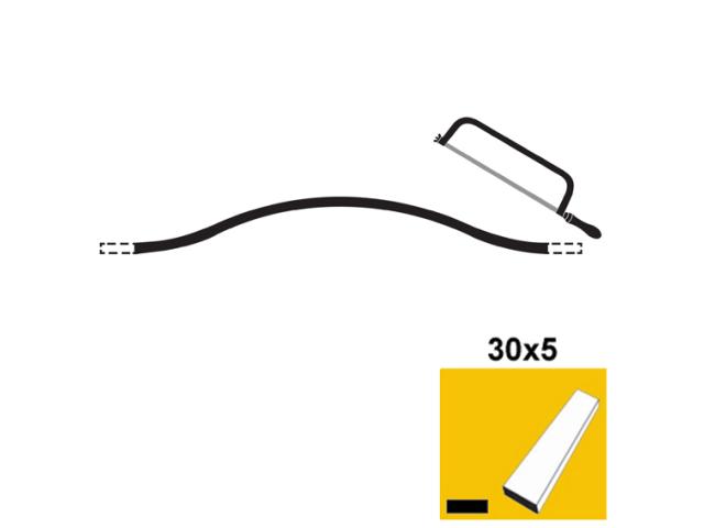 Kované prvky 30x5, p200, L2810-3850mm