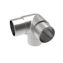 Direct flush angle AISI316, D42,4x2mm/90°