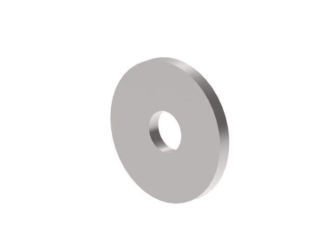 Zaślepka z otworem AISI304, D40/d12,5/t4mm