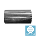 Connector AISI304, D33,7x2mm