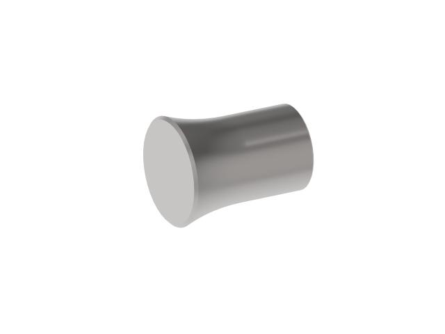 Záslepka výplně AISI304, D12mm/L22.5mm