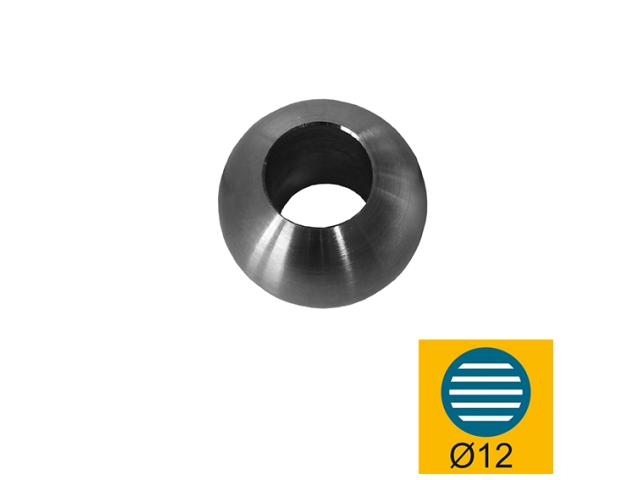 Záslepka výplně AISI304, D25/d12mm
