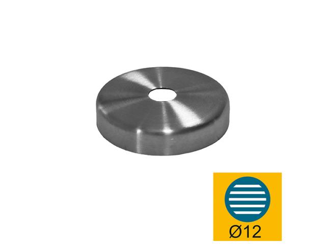 Nerezové vrchní kotvění rozeta AISI304, D60/d12,5x