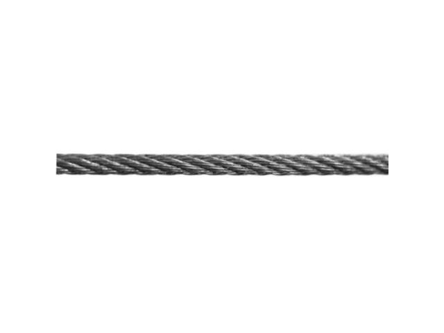 Nerezové lanko pro exteriér AISI316, d4mm, L200m