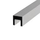 Handrail square - glass