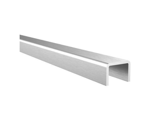 Poręcz aluminiowa AL-elox, 18x12/T14/L6000mm