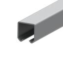 Profil pro závesné brány Zn, 33x34x2mm, L6m