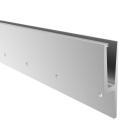 Aluminium profile for glass railing -side mounting