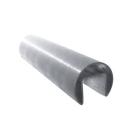 Madlo  - držák skla na nerez AISI304, D42,4/24x24