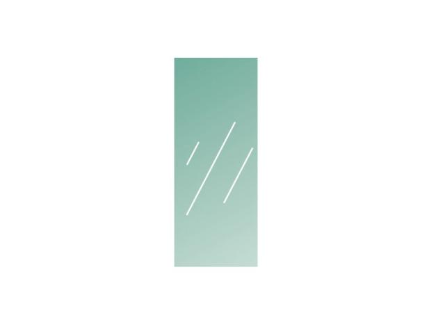 Číre, kalené lepené sklo 16,76-1000x400-VSG/ESG