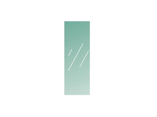 Číre, kalené lepené sklo 16,76-1200x400-VSG/ESG