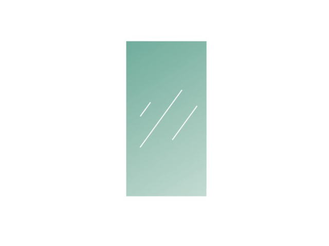 Číre, kalené lepené sklo 16,76-1200x600-VSG/ESG