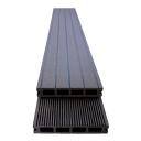 Woodplastic composite floorboard WPC Anthracite 15