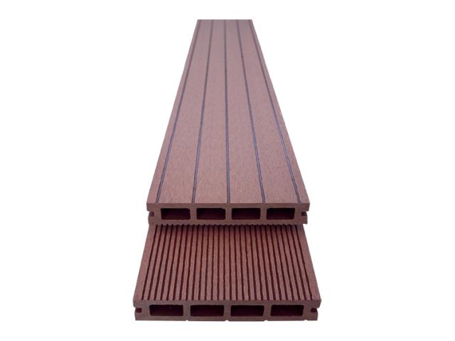 WPC podlahová doska 150x25x4000mm, hnedá