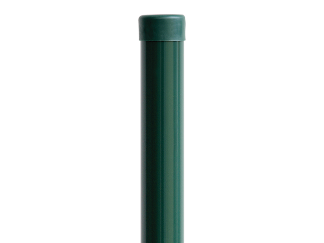 "Stĺpik ""H"" ZnPVC RAL 6005 D48mm, 1750x1,5mm"