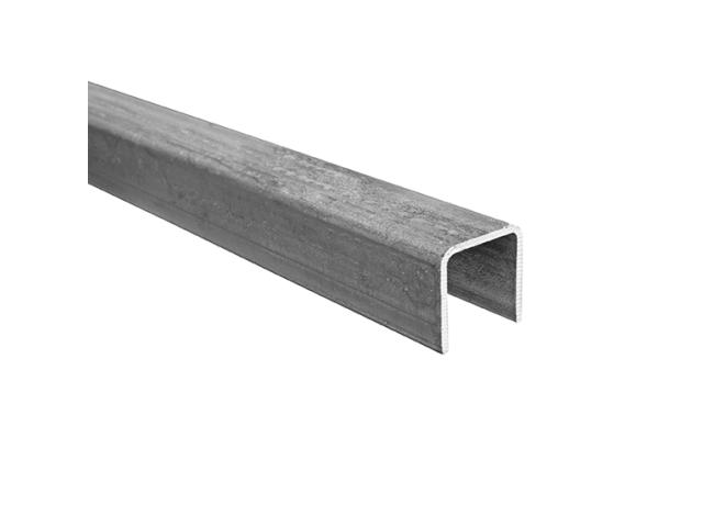 U-profile steel 40x40x3mm L6m