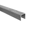 U-Profil Stahl 40x40x3mm L6m