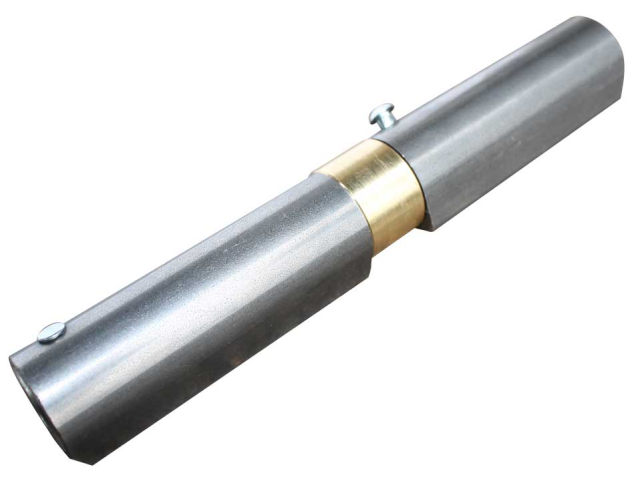 Záves navariteľný s pružinou, D22, L165mm
