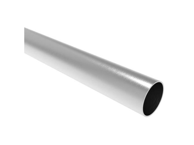 Sutured brushed inox pipe