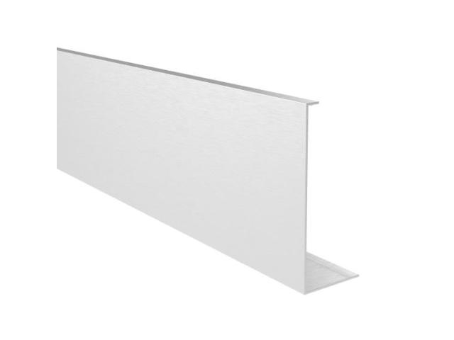 Alu-borítólemez üvegkorlát födémprofillra 2,5m