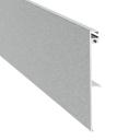 Abdeckprofil für Laufschienenrohr - Glasschiebetür
